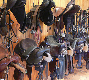Our Saddles Tack Room