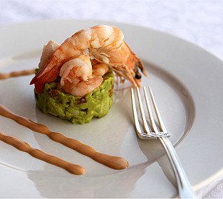 Avocado Timbale